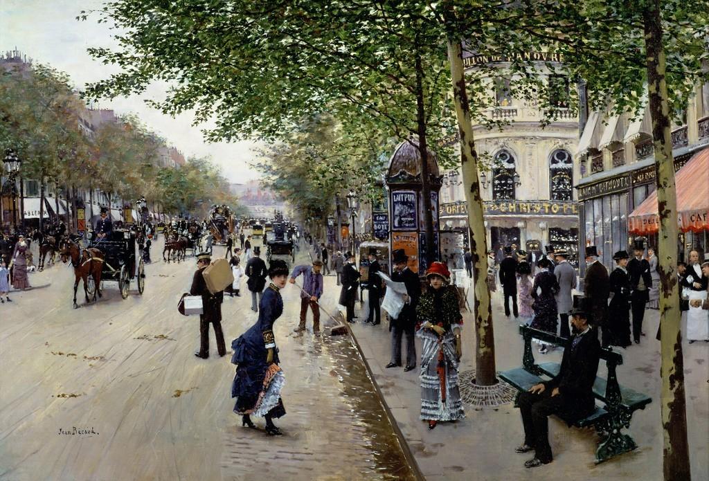 Boulevard des capucines, Jean Beraud